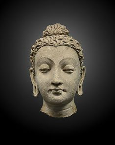 Portraying genuine serenity is quite an art. Admire it during Brafa 2017 at Jacques Barrère who features a terracotta head of Buddha from Gandhara, Afghanistan/Pakistan, century. Buddha Painting, Buddha Art, Buddha Sculpture, Sculpture Art, Indiana, Anatomy Sculpture, Buddha Figures, Hindu Statues, Hindu Art