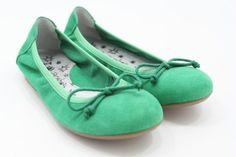 Acebos ballerina all Green