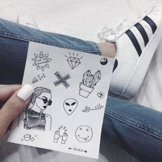 Image via We Heart It #adidas #art #blackandwhite #doodle #drawing #fashion #grunge #indie #shoes #street #style #tumblr #adidassuperstar