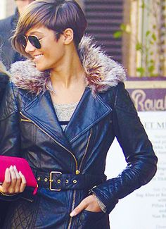Frankie Sandford obsessed with her right now. Want to cut my hair