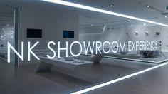 Descubriendo la nueva exposición de equipamiento para #baño de Noken. #Porcelanosa