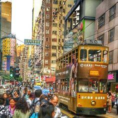 ON danas fotkao i poslao,ja uredila  #photographed #by #my #husband #hongkong #justnow #photooftheday #tramvaj #tram #hongkongtram #tipical #buildings #city #chinese #streetstyle #streetphotography #publictransport #hongkongtrip #travelerphoto #hdr_photogram #hdr_captures #hdrlovers #travelgram #traveling #china #asia