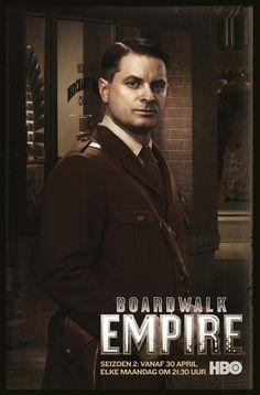 "Sheriff Elias ""Eli"" Thompson (Shea Whigham) Boardwalk Empire 2 vanaf 30 april elke maandag om 21:30u op HBO HD."