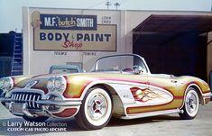 Larry Watson Flames part 2 at Custom Car ChronicleCustom Car Chronicle