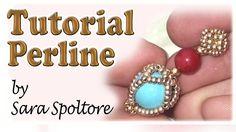 Sarubbest: tutorial orecchini  - Orecchini con perline - tutorial perline