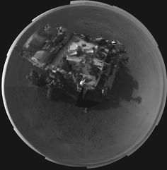 Mars Rover: Self portait.