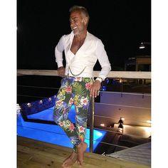 Gianluca Vacchi...fashion icon