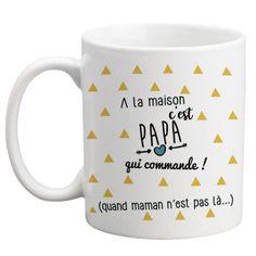 Mug personnalisable recto pour les papas ! Cadeau original : Vaisselle, verres par la-chouette-mauve