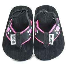 Kiditude Heart Cross Bones Baby Girl Flip Flop Sandals 36 Months * Read more at the image link. (This is an affiliate link) #BabyGirlShoes