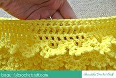 Layered Crochet Skirt Free Pattern   Beautiful Crochet Stuff