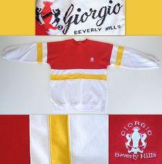 80's GIORGIO Beverly Hills Sweatshirt!  SOLD!