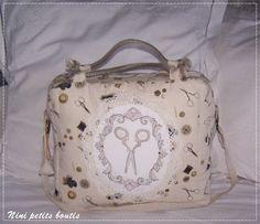 Nini Petits Boutis Lunch Box, Catalogue, Fabrics, Embroidery, Canvases, Fantasy, Bento Box