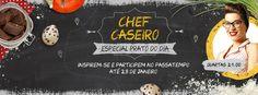 Amostras e Passatempos: Passatempo Chef Caseiro by 24 Kitchen
