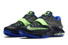 9e2d1640dfbc Images of the Nike KD 7 Flash Lime have surfaced online. Look for the  sneaker to debut at Nike retailers on March