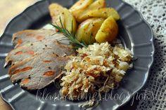 Z mojej kuchyne i fotoaparátu ...: 275/365     Pečené bravčové stehno podľa Ihnačáka Grains, Meat, Chicken, Ale, Food, Meal, Eten, Ales, Meals