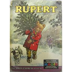 Rupert Bear Annual 1965 - got one for Christmas every year as a child - MishMash - Deep Nostalgia 1970s Childhood, My Childhood Memories, Childhood Toys, Vintage Books, Vintage Toys 1960s, 60s Toys, My Memory, Vintage Christmas, Christmas Toys