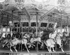 Riverview Beach Park,  Pennsville, NJ 1950's carousel