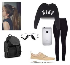 """""""Running errands"""" by gissellesilva ❤ liked on Polyvore featuring NIKE and Calvin Klein"""