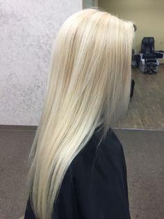 Platinum blonde - - Platinum blonde Hair by Meg Platinblond Blonde Hair Shades, Light Blonde Hair, Blonde Hair Looks, Platinum Blonde Hair, Super Blonde Hair, Bleach Blonde Hair, Aesthetic Hair, Grunge Hair, Gorgeous Hair