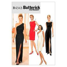 Choose from a great range of Sewing Patterns. Including Vogue Patterns, Dressmaking Patterns, and Dress Sewing Pattern. Butterick Sewing Patterns, Easy Sewing Patterns, Vogue Patterns, Clothing Patterns, Vintage Patterns, Dress For Petite Women, Petite Dresses, Evening Dress Patterns, Evening Dresses