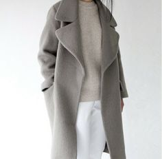 long grey coat, waaaant