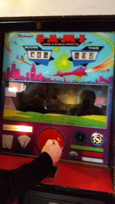 Midway S.A.M.I. Surface Air Missile Interceptor Coin Operated Arcade Game Works picclick.com