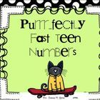 Are you ready for Number Sense in the TEENS?If you loved Purr...fectly Fast for letters and numbers 1-10, you will love Purrr...fectly Fast TEEN ...