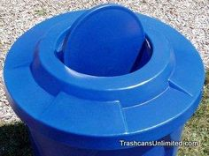 55 Gallon Drum Lid With Swivel Door To Keep Out Bees And Flies Plastic Drums