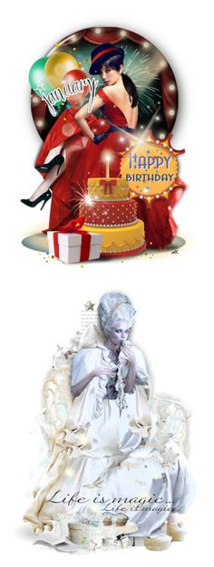 """""""🎉Happy Brithday Gifts 2017🎂"""" by cindu12 ❤ liked on Polyvore featuring art, giftset, januarybirthday, birthdaydoll, birthday, gift and lastchance"""