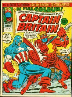 Captain Britain 16-Ron Wilson, etc-1977