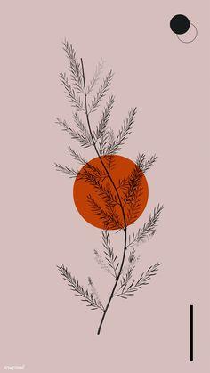 Orange by Sara Gisabella Designs Cute Wallpapers, Wallpaper Backgrounds, Girl Wallpaper, Iphone Wallpapers, Handy Wallpaper, Drawing Wallpaper, Wallpaper Quotes, Backgrounds For Phones, Vintage Backgrounds