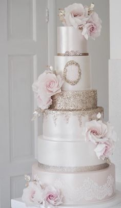 Wedding Cake Inspiration – Cotton & Crumbs You are in the right place about Wedding Cake red Here we offer 5 Tier Wedding Cakes, Different Wedding Cakes, Wedding Cake Red, Wedding Cake Decorations, Elegant Wedding Cakes, Beautiful Wedding Cakes, Gorgeous Cakes, Wedding Cake Designs, Wedding Cake Toppers