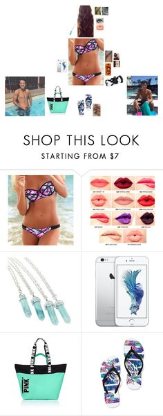 """""""Pool With My Boyfriend."""" by tyviereck ❤ liked on Polyvore featuring NYX"""