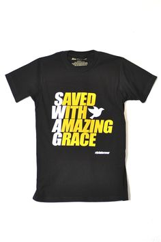 SWAG  Saved With Amazing Grace Christian T-Shirt is based on Ephesians 2  f63701844d1