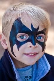 batman face paint - Google Search