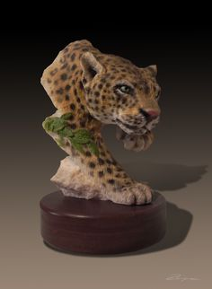 Leopard Commissioned for Roman Inc