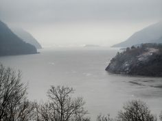 Winter on the Hudson    December view of the Hudson River taken from West Point Military Academy