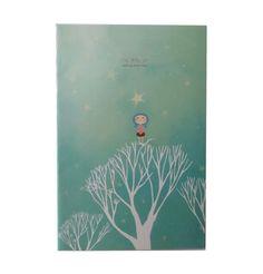 Cuaderno cuento de Hadas azul