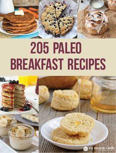 205 Paleo Breakfast Recipes