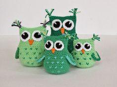 Amigurumi Cute Owl Twins : Skapa och Inreda: M?nster p? virkad uggla! Free tutorial ...