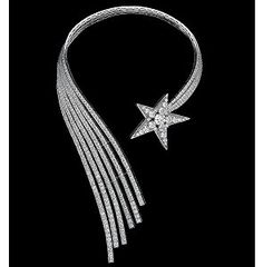 "Necklace ""Comete"" with diamonds by Gabrielle CHANEL in 1932"