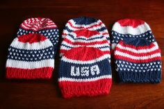 Patriotic Preemies-free knit patterns!**