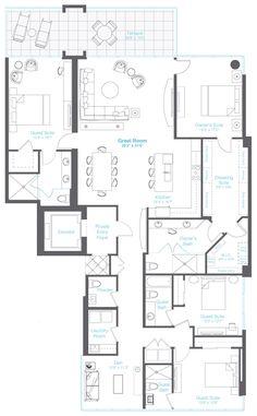 High Rise Condo Floor Plans Live At The Landmark Floor
