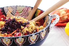 Here is a great recipe for weight loss. It's tasty, healthy and low calorie. Try out this Cranberry Quinoa Salad