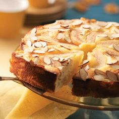 Old-Fashioned Almond Pear Cake  Haven't tried this yet; however, knowing the quality of ToH repices, I don't doubt it is delicious!