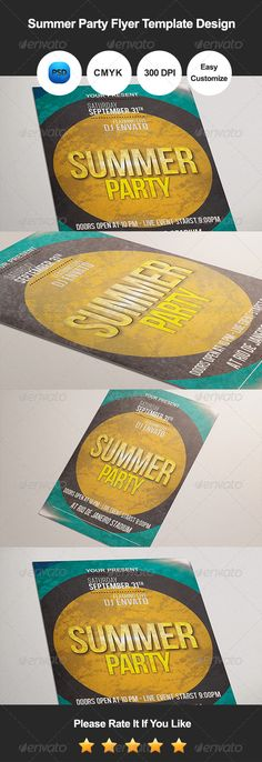 Graduation Party Night Flyer | Fonts-logos-icons | Pinterest