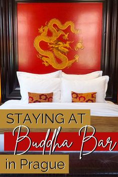 """Looking for a unique place to stay in Prague? Buddha-Bar is an asian themed """"voyage within a voyage hotel"""" that is centrally located and features luxurious amenities. #Prague #BuddhaBar Hotels Near, Hotels And Resorts, Asian Inspired Decor, Cafe Pictures, Prague Hotels, Visit Prague, Cute Cafe, Prague Travel, Old Town Square"""