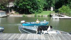 1974 Lucraft Tri Hull Fiberglass Bass Boat Start Fishing