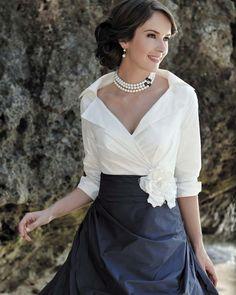 21 Vestidos Elegantes para la Madre de la Novia - Bodas