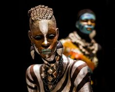 Sculpture by Woodrow Nash (1/2) | Ran across these life-size ...